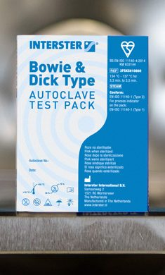 Bowie & Dick Type Autoclave Lean Pack